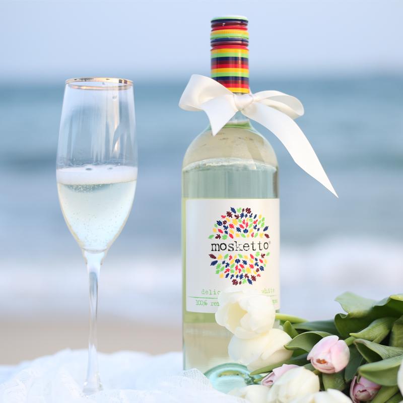 意大利 莫斯卡托 甜白气泡红酒(获得国际大奖赛金奖)