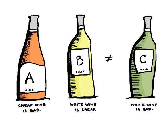 世俗偏见:我就喜欢喝白葡萄酒,有错吗?